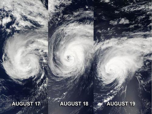 NASA satellites capture 3 days of Hurricane Gordon's Atlantic track