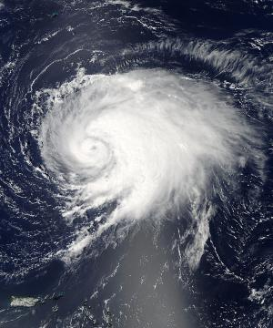 NASA satellite captured Hurricane Leslie's picture perfect moment