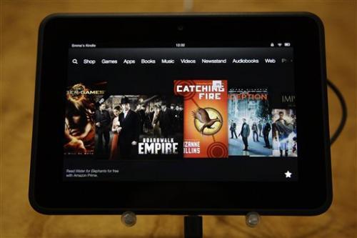 Amazon unveils new, larger Kindle Fire models