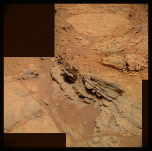 Opportunity rover finds intriguing new spherules at Cape York