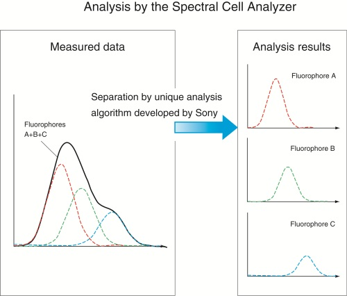 Sony announces the development of the 'Spectral' cell analyzer, the industry's first cell analysis instrument capable of detecti