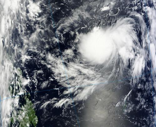 NASA satellite sees Tropical Storm Jelawat form in northwestern Pacific