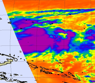 NASA sees Tropical Storm Bopha intensifying in Micronesia