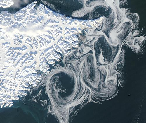NASA Satellite Sees Ghostly Remains of Vanishing Arctic Sea Ice