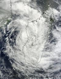 NASA sees Tropical Storm Irina still hugging Madagascar coast