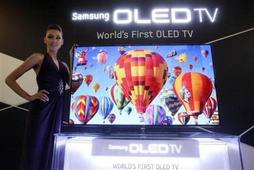 Samsung, LG bet on new display to revive TV sales