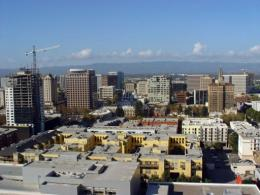 Silicon Valley's capital city San Jose, California is pictured in 2007