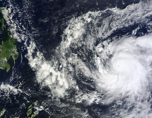 NASA satellites see Super-Typhoon Bopha closing in on the Philippines