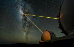 Astronomers discover star racing around black hole at Milky Way center