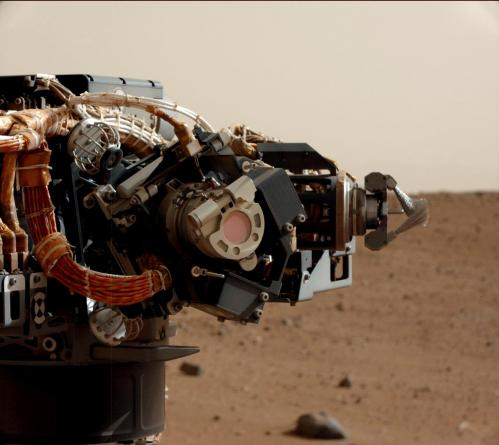 Mars rover Curiosity begins arm-work phase