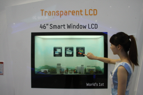 Samsung expanding transparent display market with a new 46-inch LCD panel