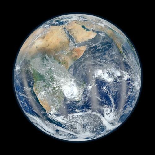 VIIRS eastern hemisphere image: Behind the scenes