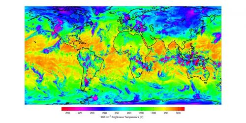 Infrared sounder on NASA's suomi NPP starts its mission