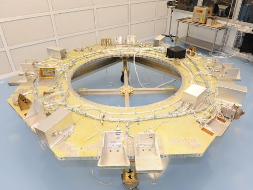 Instrument integration begins at Goddard on MMS spacecraft
