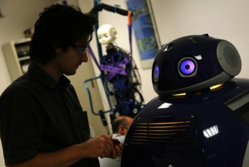 Researchers are working on projects ranging from a robot that can come to your door to collect your recycling