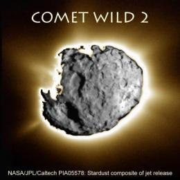 University of Hawaii scientists analyze a tiny comet grain to date Jupiter's formation