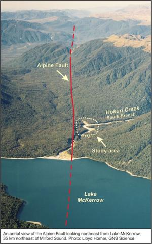 8000-year quake record improves understanding of Alpine Fault