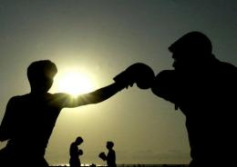 About one in ten people are left-handed, but in a number of sports like boxing, they are about one in five