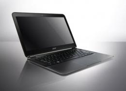 Acer has unveiled the world's thinnest laptop computer