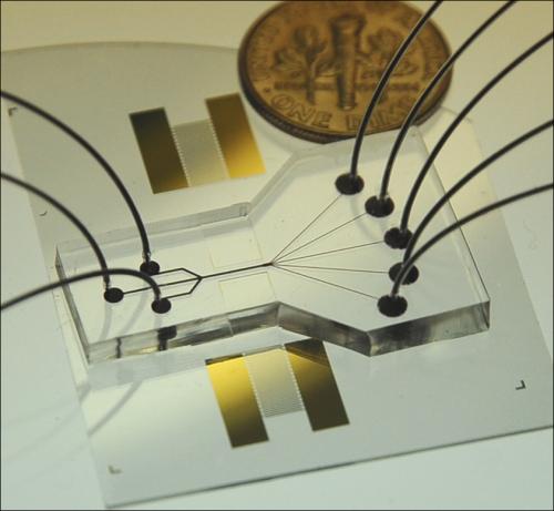 Акустический «пинцет» для сортировки клеток