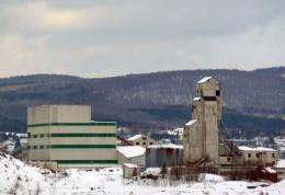 A former asbestos plant in Thetford Mines, Quebec,a city of some 25,000 inhabitants
