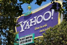Ailing Internet giant Yahoo! said Tuesday its fourth-quarter net earnings slid 5.3 percent from a year earlier