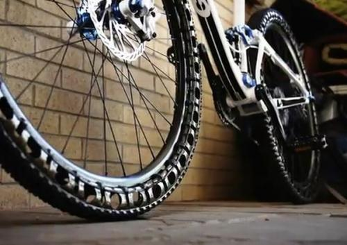 Airless wheels for mountain bikes may ditch patches and pumps (w/ Video)