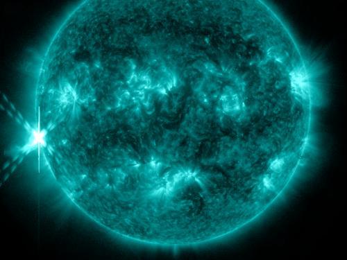 A new set of solar fireworks
