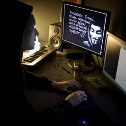 Anonymous hackers briefly shut the US Justice Department website earlier this year