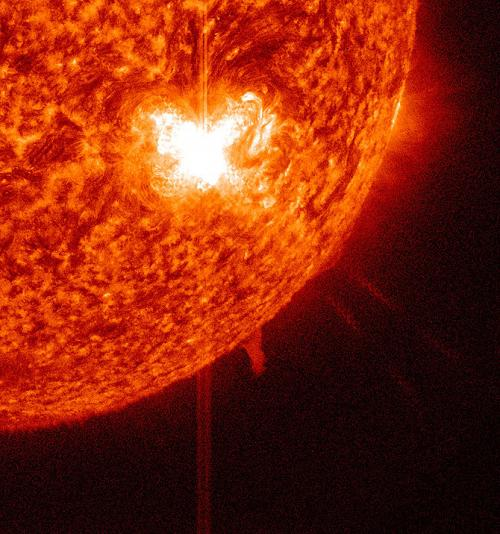 Another M-class flare from Sunspot 1515