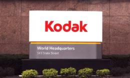 An sign at Eastman Kodak Co's corporate headquarters