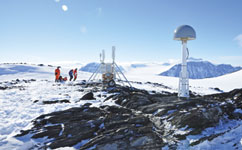 Antarctic icecap melt slower than thought