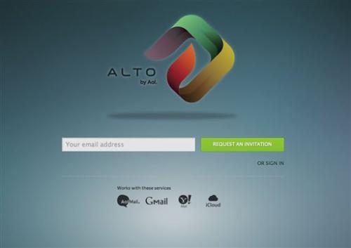 AOL wants to organize your email clutter with Alto