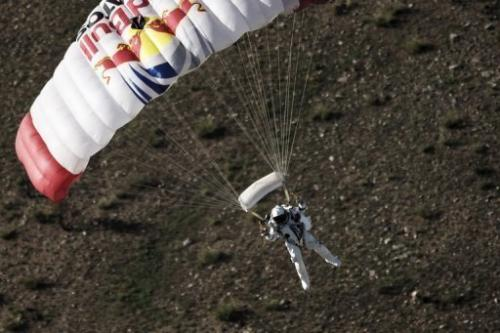 Austrian athlete Felix Baumgartner said he was