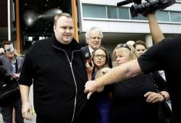 Bail rules prevent Kim Dotcom from using Internet (AP)