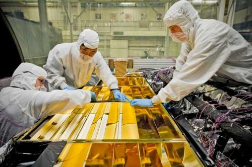Blanketing NASA's Webb telescope's science instrument electronics
