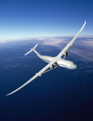 Boeing puts vision to work in hybrid electric aircraft