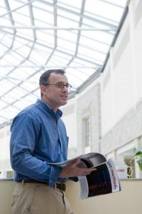 Boston College names Thomas Chiles the Deluca Professor of Biology