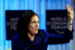 Chief Operating Officer of Facebook Sheryl Sandberg