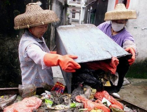 China is among the countries of fastest-growing production of municipal solid waste