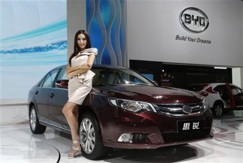 China's BYD hopes for turnaround with Si Rui sedan