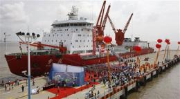 China ship sails to Atlantic and back, via Arctic