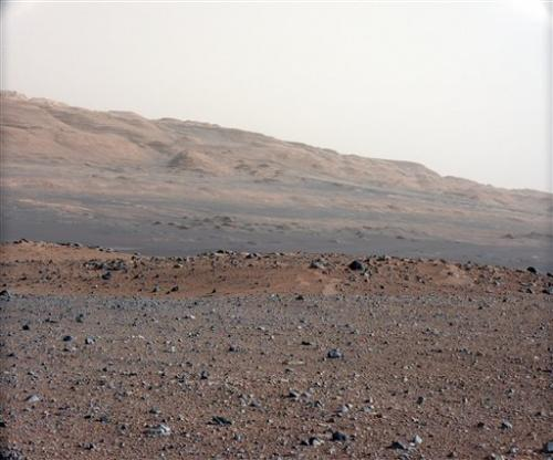 Curiosity beams new will.i.am song from Mars
