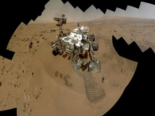 Curiosity Self-Portrait, Wide View