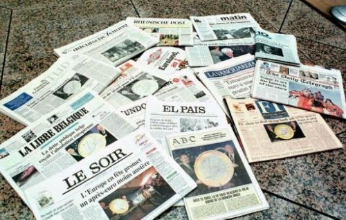 Daily papers such as Le Soir or La Libre Belgique hailed a compromise deal reached with Google