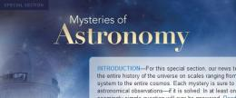 Science journal offers up essays on 8 mysterious in astronomy