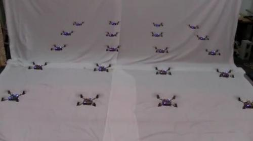 Airborne robot swarms are making complex moves (w/ video)