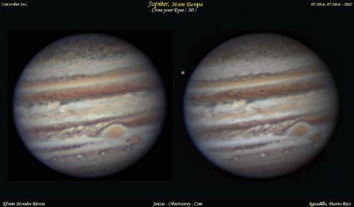 Do a doubletake: Jupiter and Europa