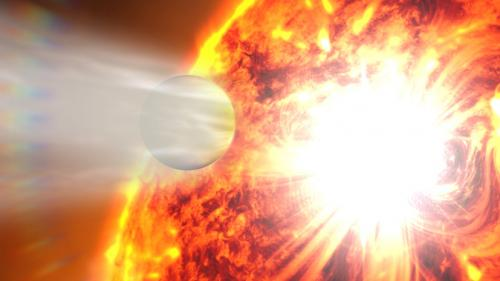 Dramatic change spotted on a faraway planet