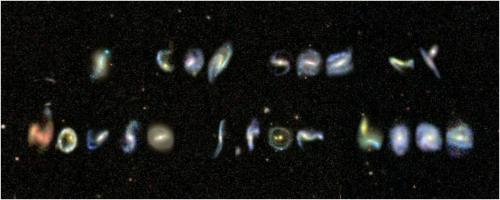 Public maps out an A to Z of galaxies